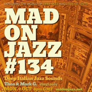 MADONJAZZ #134: Deep Italian Jazz Sounds