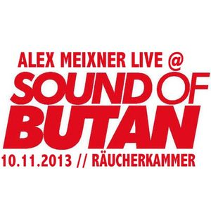 Alex Meixner  @ Sound Of Butan // 11.10.2013 // Butan Club Wuppertal