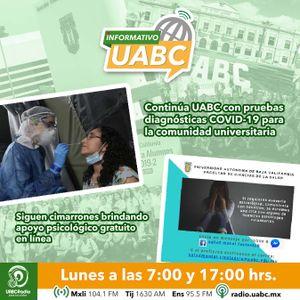 INFORMATIVO UABC - LUNES 1 DE MARZO DE 2021