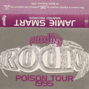 JAMIE SMART : (The Prodigy) PIOSON TOUR 1995 part 1
