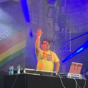 DJ JAMES MUNICH Live @ RINDERMARKT 2016 / Gay Pride Munich
