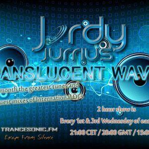 Jordy Jurrius - Translucent Waves Episode 070 (August 15 2012) on TRANCESONIC.FM