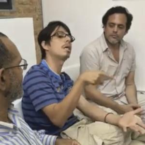 Foro: sobre pintura con Nestor García y Luis Arroyo, moderado por Felix Suazo en El Anexo
