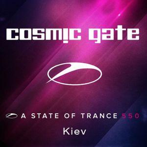 Cosmic gate - Live at IEC in Kiev, Ukraine (ASOT 550) (10.03.2012)