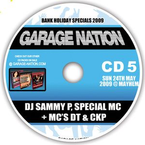 Sammy P - Live @ Garage Nation 2009 (Mayhem Southend)