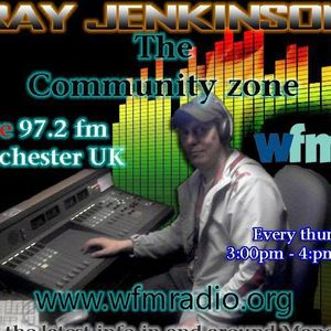 The Community Zone (3-5pm gmt) www.wfmradio.org 97.2fm South Manchester uk