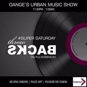 80s RNB Disco Super Sat Throwbacks Gems DangeUrbanMusicShow Pulse88Radio