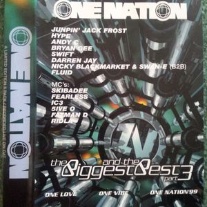 Jumping Jack Frost with 5ive-0, Riddla & Fatman D at One Nation Biggest & The Best pt 3 (1999)