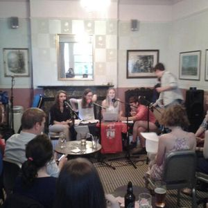 Childhood Songs in the pub