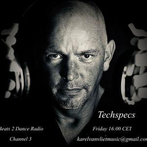 Techspecs 54 Mixed & Selected by Karel van Vliet