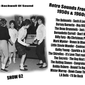 The Backwall of Sound Retro Vinyl From The 1950s & 1960s - Show 62