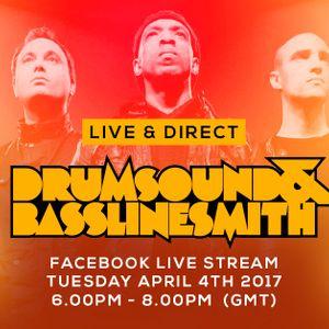 Drumsound & Bassline Smith - Live & Direct #32 [04-04-17]
