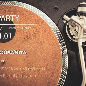 Retro DJ Party @ La Cubanita Bar & Dinner, Sofia 2017.01.17