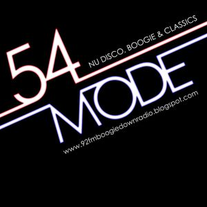 54 Mode Radio Show: Tuesday 22nd March