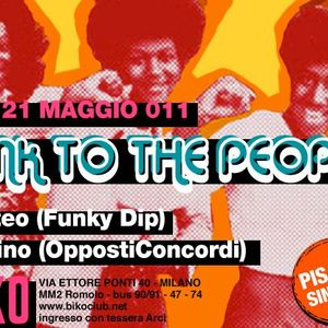 "SDrino ""Funk the People""@Biko 21 5 11"