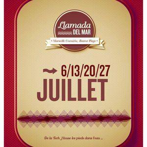 Llamada Del Mar @ Bistrot Plage, Marseille (2011.07.06) Part 7 - Toukass