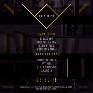 Rise After hours 8/30/2015 Brooklyn