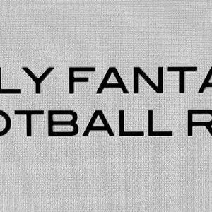 Daily Fantasy Football Report: NFL Week 2 Forecast