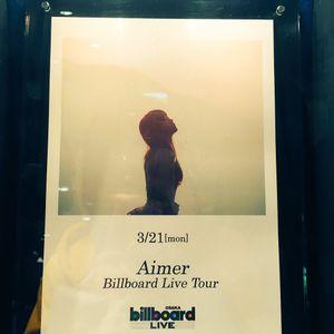 Aimer on Billboard Live Osaka 2016.03.21