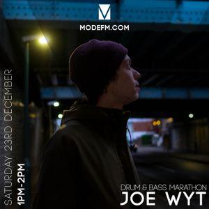 23/12/2017 -  Joe Wyt (D&B Marathon) - Mode FM