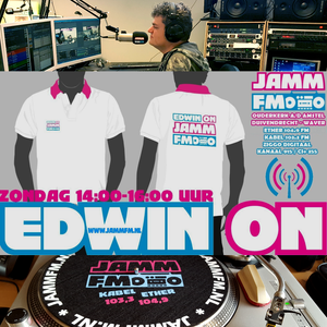 "13-1-2019 "" EDWIN ON "" The JAMM ON Sunday met Edwin van Brakel op Jamm Fm"