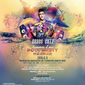 PACHA MACAU - POOL PARTY June 2016 LIVE