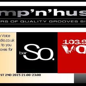 BUMP N HUSTLE RADIO SHOW ON VOICE FM 103.9 MARCH 27 WITH A GUEST MIX FROM DR STU LITTLE