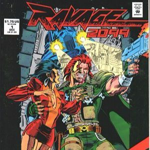 36 - Ravage 2099 #1 - The First Appearance of Ravage