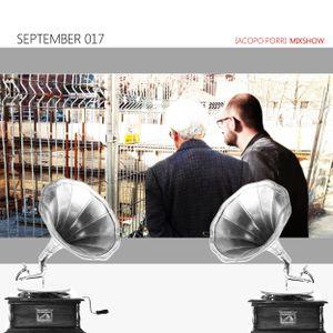 September 2017 - Iacopo Porri Mixshow