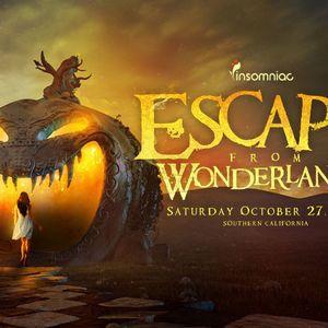 Laidback Luke - Live @ Escape from Wonderland, Califórnia, E.U.A. (27.10.2012)