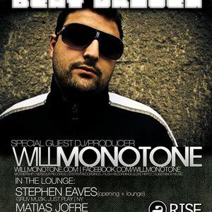 Live @ RISE (Boston, MA) [10.23.10] {Live Microphone Recording}