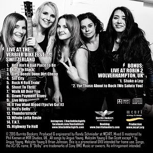 BACK N BLACK - THE GIRLS THAT PLAY ACDC!