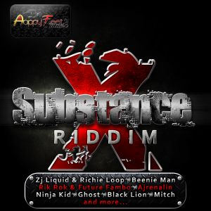 Substance X Riddim Full Mix (Avril 2012) - Selecta Fazah K.