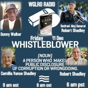 WGLRO RADIO welcomes Camilla Vance Shadley and MG Robert Shadley (ret) - The DWMS - 12 11 2020