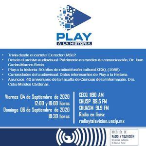 Programa 46. Play a la Historia. Patrimonio en medios de comunicación, (04/09/2020).