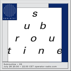 Subroutine Records - 26th July 2017