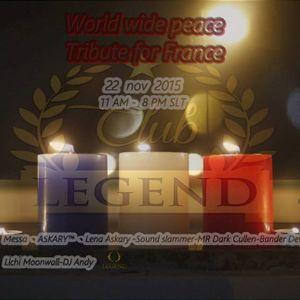 ASKARY - EDM Pray for Paris @ Legend club ( Second Life)