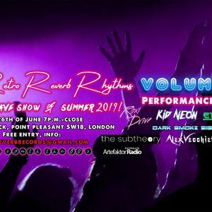 Retro Reverb Rhythms Charity Event