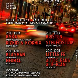 klayman - mix for budapest deep cafe 2010-10-11