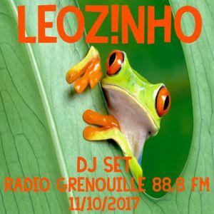 LEOZ!NHO - DJ Set Radio Grenouille 88.8 FM (11/10/2017)