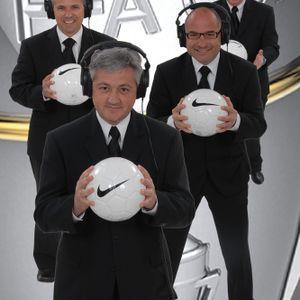 Four Diegos @SENNEWS with @TheSunFootball UK journo Mike McGrath @mcgrathmike April 27 2016
