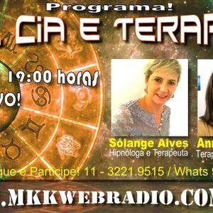 Programa Sol Cia e Terapias 08/03/2016 - Solange Alves e Anna Estrella