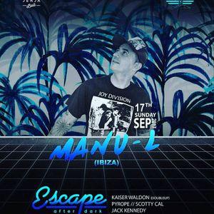 Manu-L @ Escape_Jenja Club_Bali 17_09_17