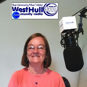 Linda Acaster on The Community Show on West Hull FM 2016_05_19