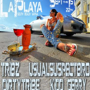 dirtYtribe - Live @ LaPlaya Beach club Varna, Bulgaria 01.09.2010