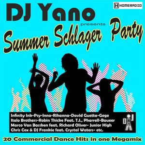 DJ Yano - Summer Schlager Party (20 Commercial Euro-Dance Hits)