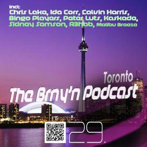 BRNY - The Brny'n [ Burning ] Podcast #29 - Toronto - TBP#29 @ Space FM