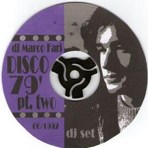 MARCO FARI' live at disco boom, bologna italy 1979