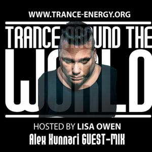 Trance Around The World With Lisa Owen Episode 092 ALEX KUNNARI Guest-mix