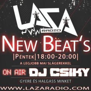 Dj Csiky - NewBeat's@LazaRádió (2017.06.23)